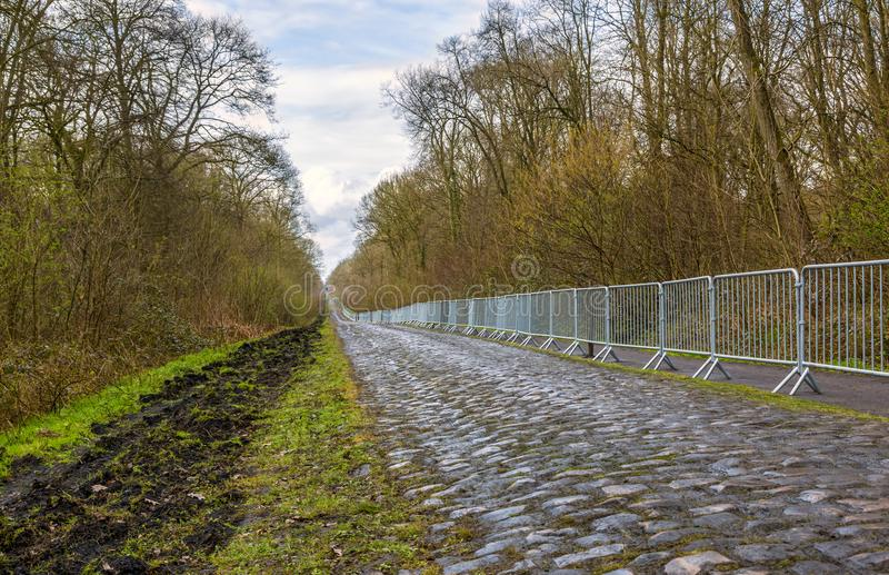 Pave d`Arenberg stock image