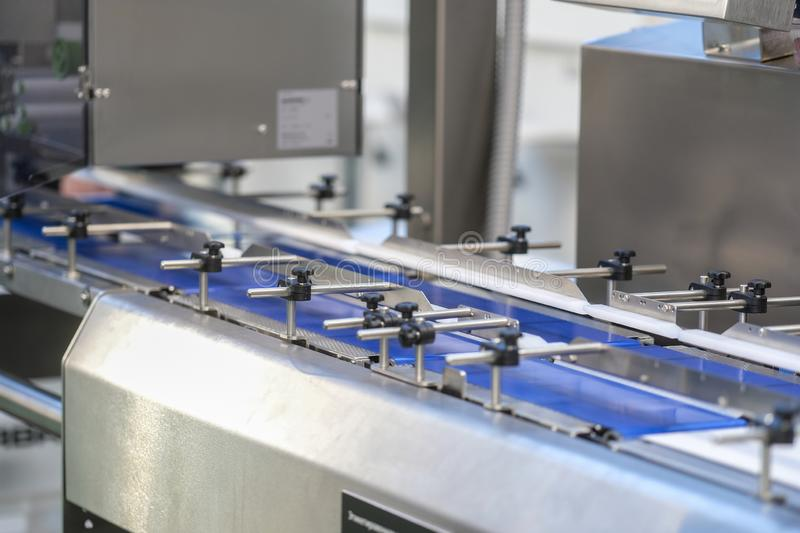 Food industry equipment. The image of a Food industry equipment royalty free stock image
