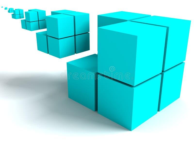 Image géométrique images stock