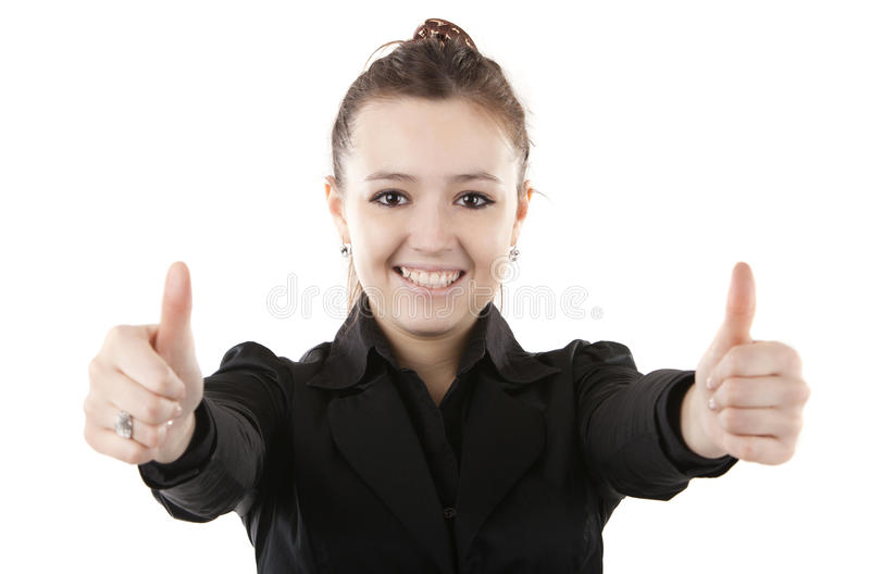 Download Image of a gir stock image. Image of gesture, female - 23720045
