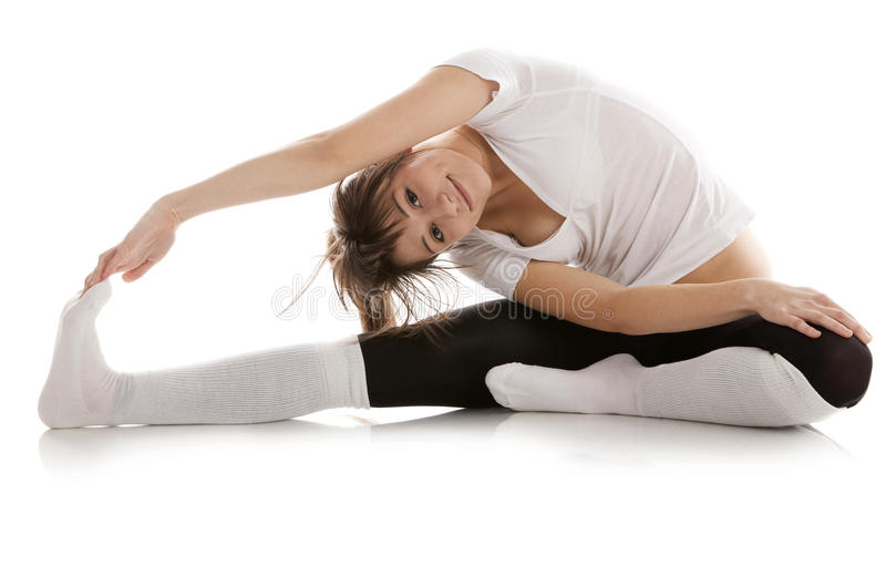 Download Image Of A Girl Practicing Yoga Stock Image - Image: 24023423