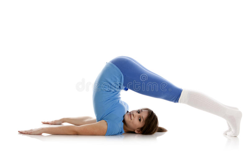Download Image Of A Girl Practicing Yoga Royalty Free Stock Photography - Image: 24023577
