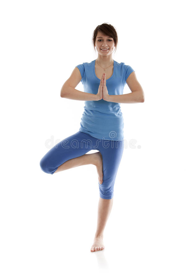 Download Image Of A Girl Practicing Yoga Stock Image - Image: 24287681