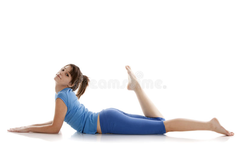 Download Image Of A Girl Practicing Yoga Stock Image - Image: 24508287