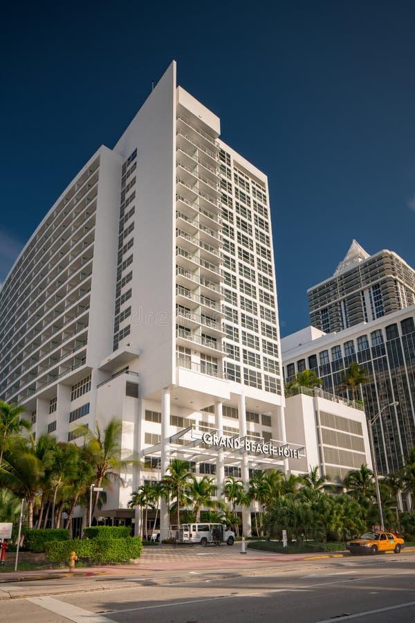 Image Of The Grand Beach Hotel Miami Beach Stock Image Image Of Nice Blue 163009415