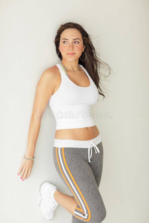 Image Of A Healthy Fitness Model Royalty Free Stock Photography