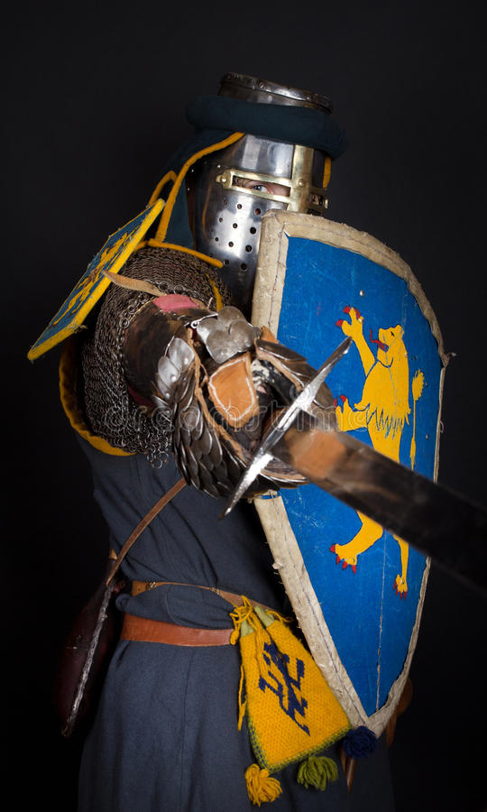 Download Image of heavy knight stock photo. Image of broken, jaded - 19519840