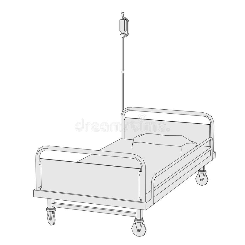 Image Of Hospital Bed Stock Image Image 35967101