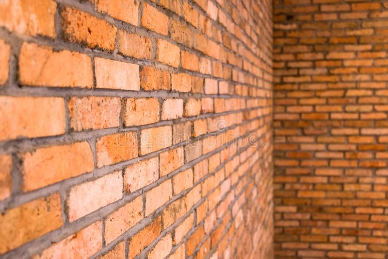 Brick Walls for Background. Image of interior brick walls for background stock images