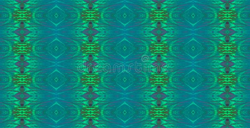 IRIDESCENT BLUE REPEAT PATTERN. Image of an intricate repeat pattern in pearly iridescent blue and green colours stock photos