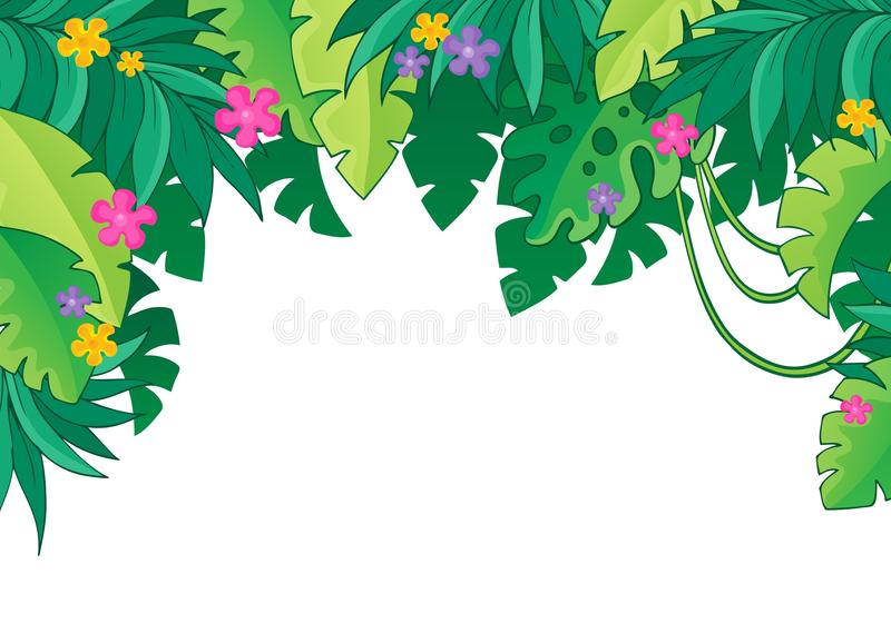 image with jungle theme 3 stock vector illustration of thematic rh dreamstime com jungle vector free download jungle vectoriel free
