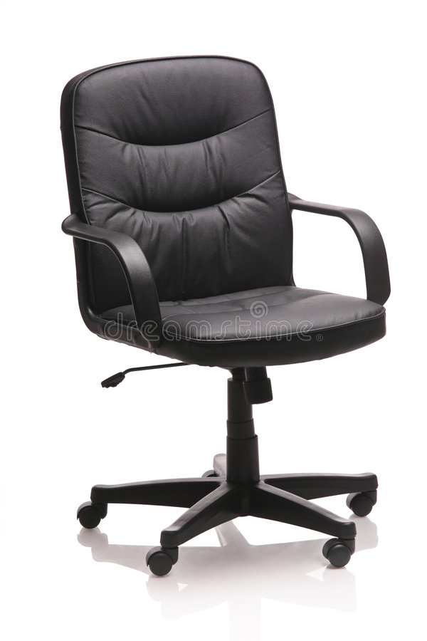 Download Image Of A Leather Office Chair Stock Image - Image: 7436479