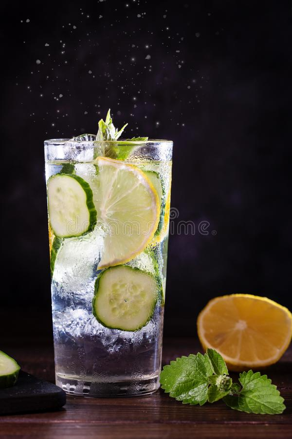 Image with lemonade royalty free stock image