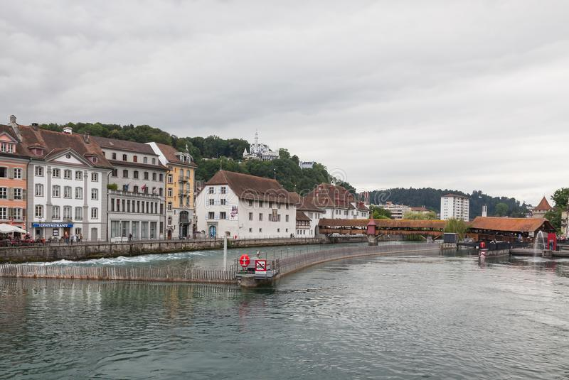 City of Luzern, Switzerland royalty free stock photo