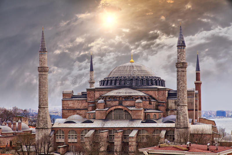 Hagia Sophia Istanbul royalty free stock photos