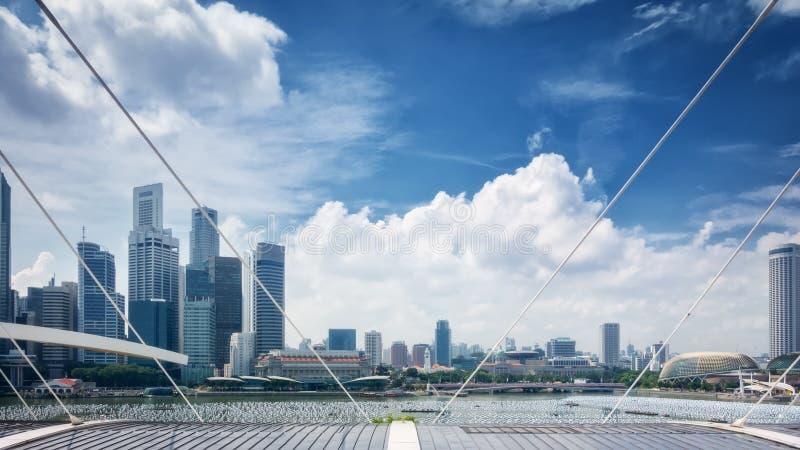 Marina Bay Sands Singapore stock images