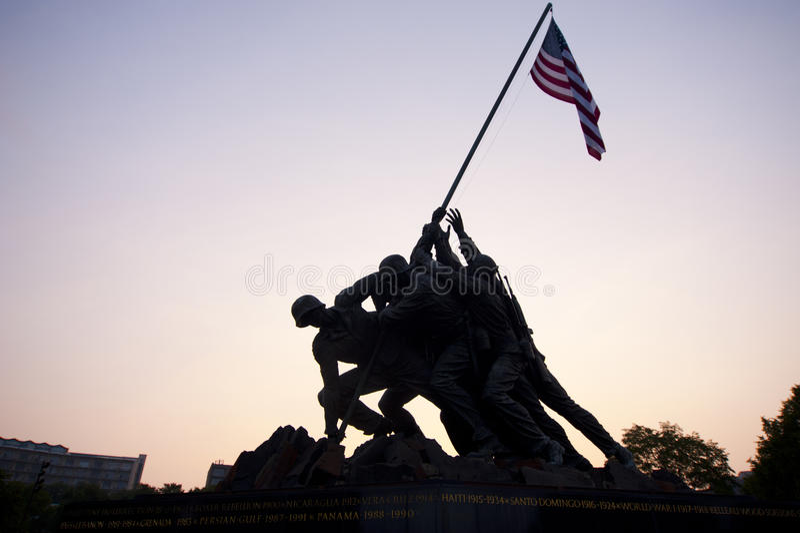 Marine Memorial stock photography