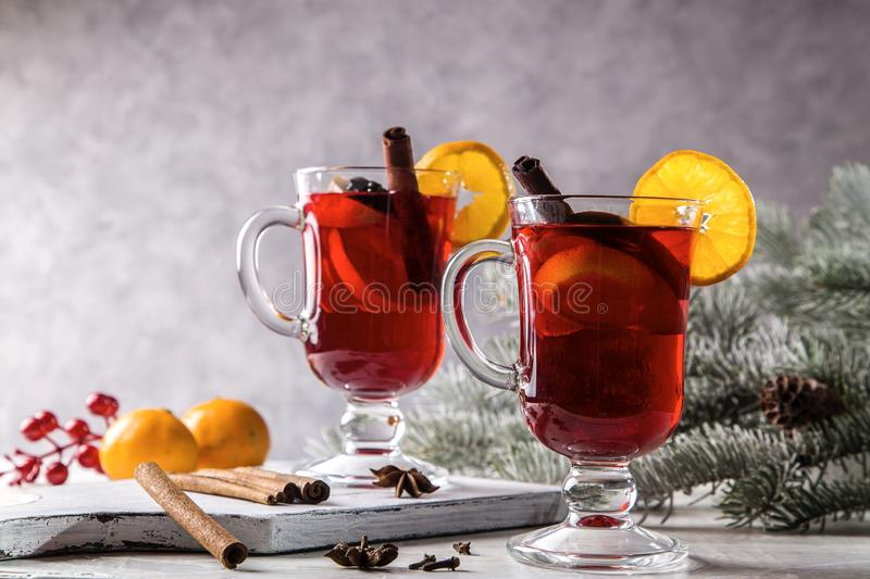 Image with mulled wine royalty free stock images