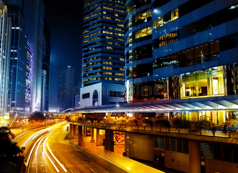 Image of night city royalty free stock photo