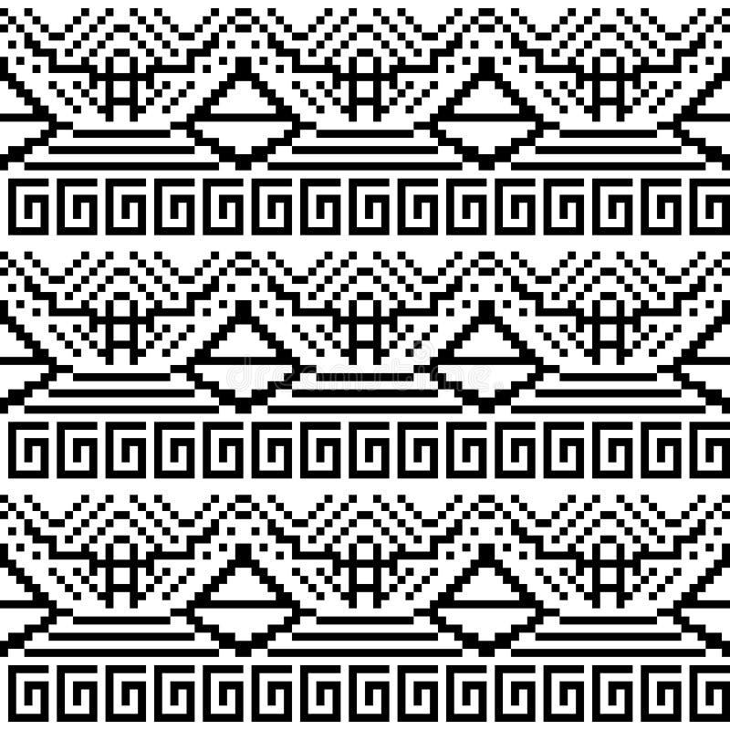 Download Image Noire Et Blanche Des Formes Géométriques Illustration de Vecteur - Illustration du point, contrôle: 77159539