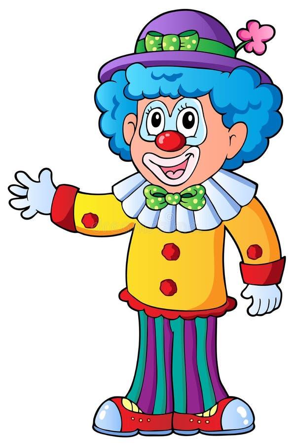 Free Image Of Cartoon Clown 2 Stock Photography - 22599452