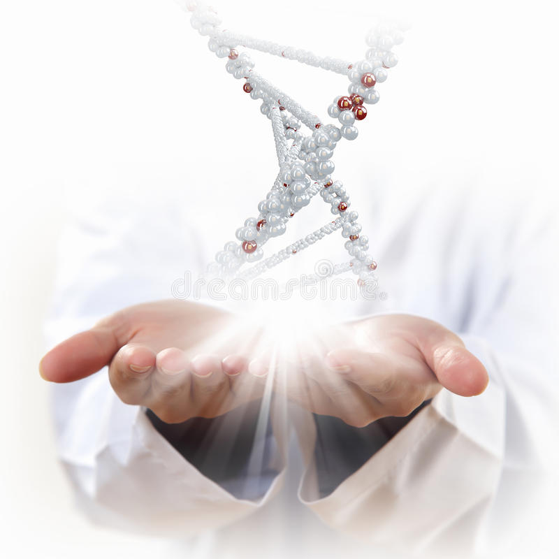 Free Image Of Dna Strand Royalty Free Stock Photography - 30490317