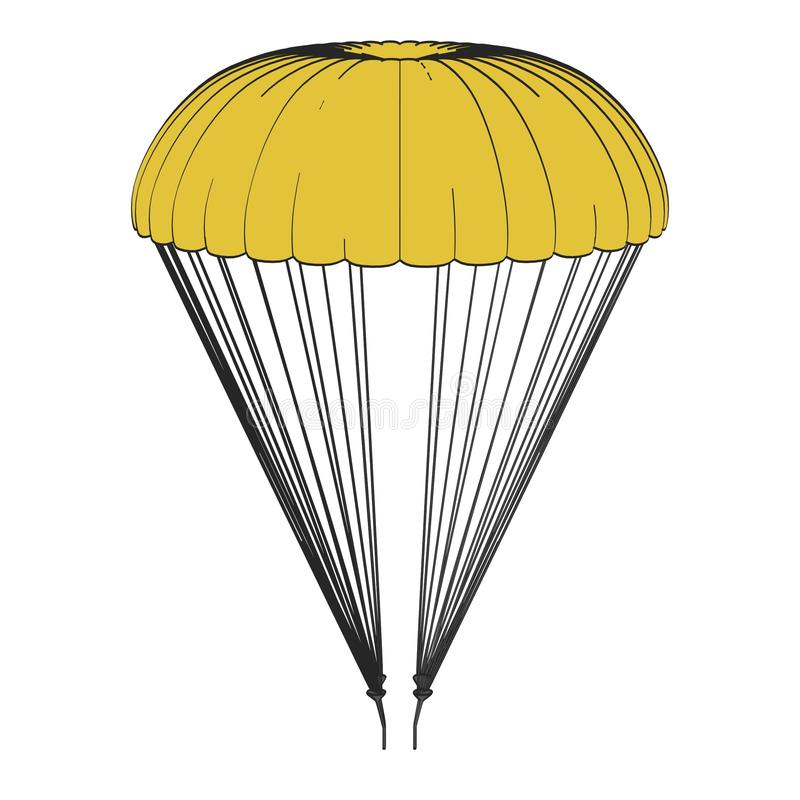 Free Image Of Parachute Royalty Free Stock Photos - 36691668