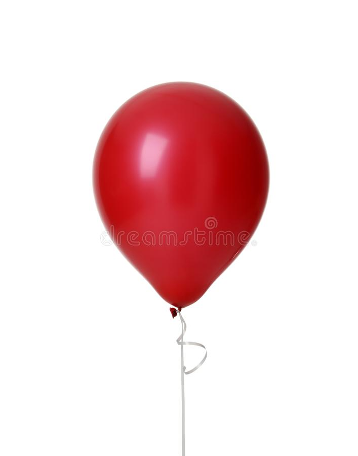 Free Image Of Single Big Red Latex Balloon For Birthday Party Royalty Free Stock Photos - 105488248