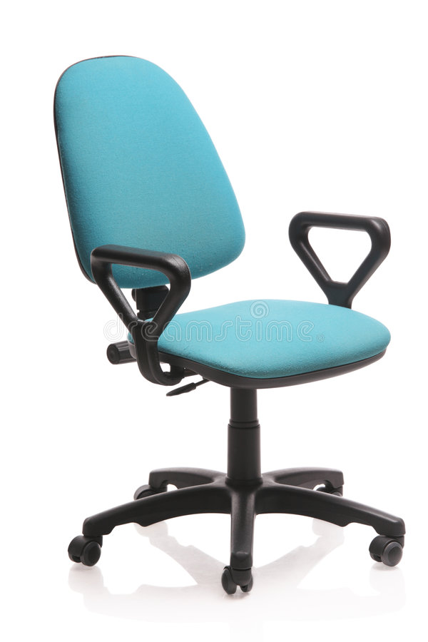 Image of an office chair royalty free stock photo
