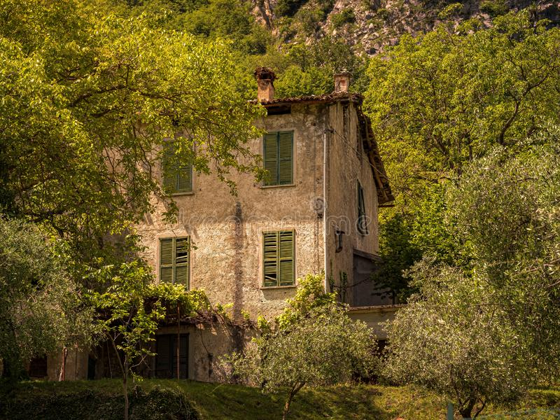 Image of an old abandoned house, lost places stock images