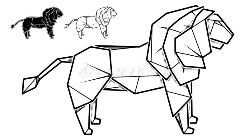 Easy Origami Lion Instructions With 14 Steps | 450x800