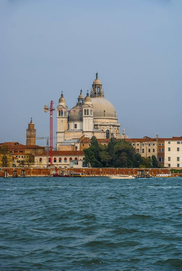 Image of picturesque chanels of Venice, Italy. Image of picturesque chanels of Venice in Italy stock photo