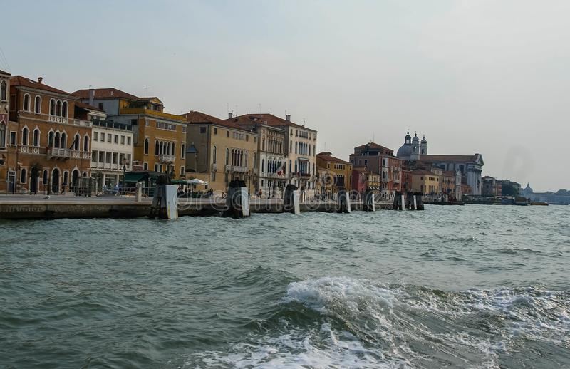 Image of picturesque chanels of Venice, Italy. Image of picturesque chanels of Venice in Italy stock photos