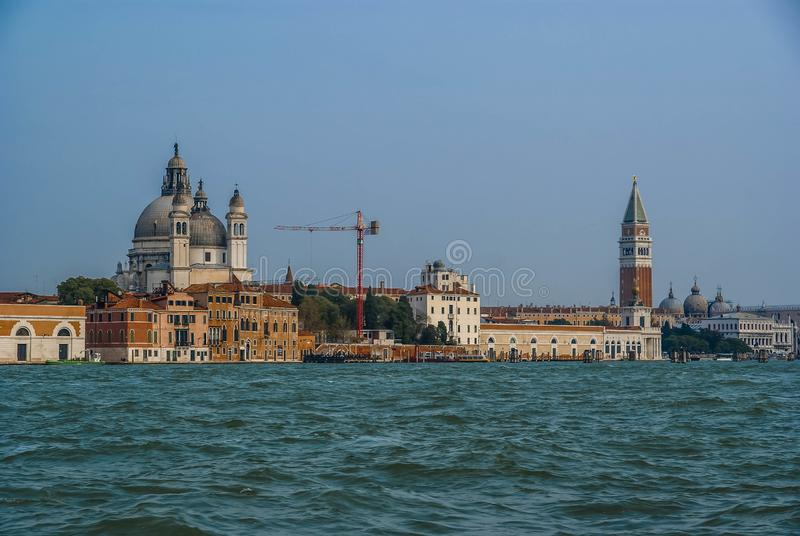 Image of picturesque chanels of Venice, Italy. Image of picturesque chanels of Venice in Italy stock image