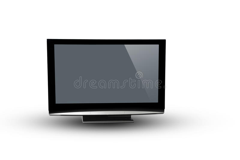 Image plasma lcd tv stock photography
