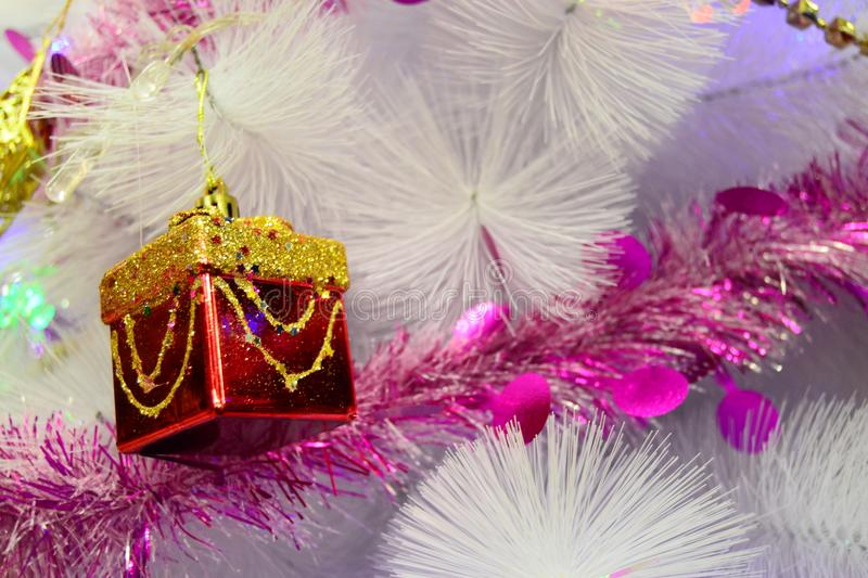 Gift Christmas for your banner and Brochure. This Image for poster and brochure royalty free stock image
