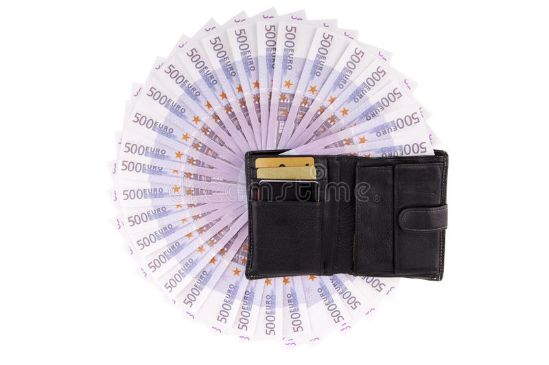 Download Image purse with euros stock image. Image of purse, currencies - 23851611