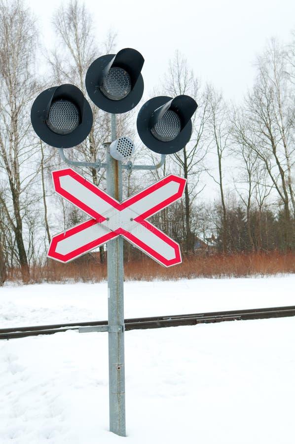 Download Railway crossing signs stock photo. Image of danger, road - 29939562