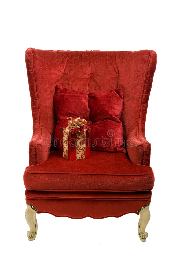 Download An image of a red chair stock image. Image of creepy, background - 7090315