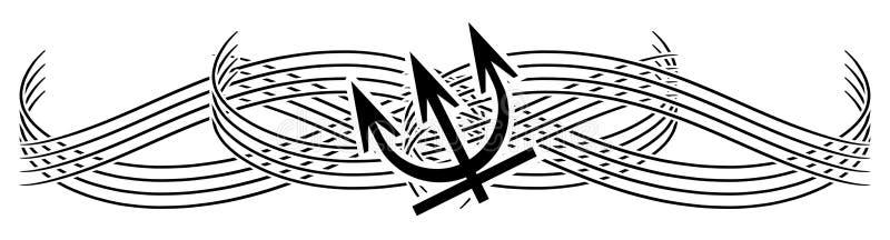 Poseidon Tattoo Stock Illustrations 55 Poseidon Tattoo