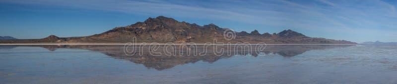 Image retournée de Salt Lake photographie stock