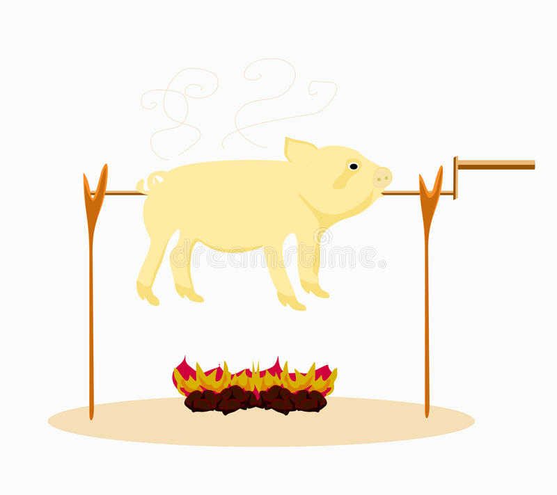 Download Image Of A Roasted Pig. Stock Photography - Image: 28368672