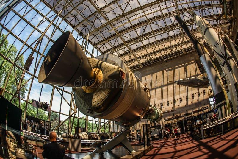 Image of the rocket engine. Shooting location :  Washington, DC stock image