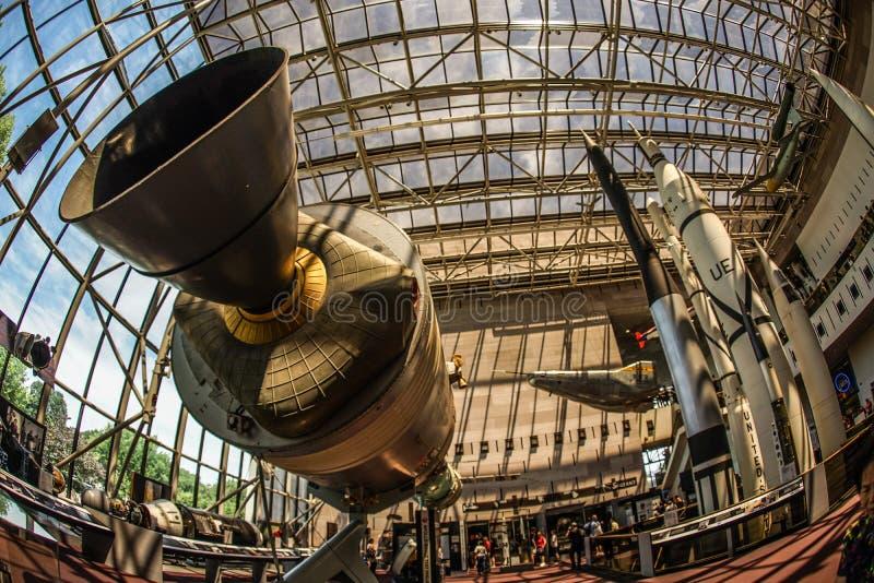 Image of the rocket engine. Shooting location :  Washington, DC stock photography