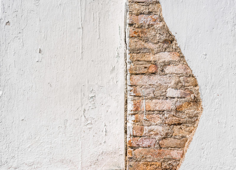 Image of rough white wall texture stock photo