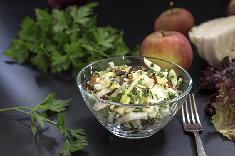 Image with a salad stock photo