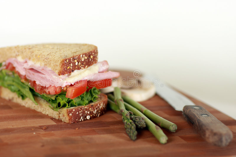 Download Image of sandwich stock image. Image of fastfood, vegetable - 6877413