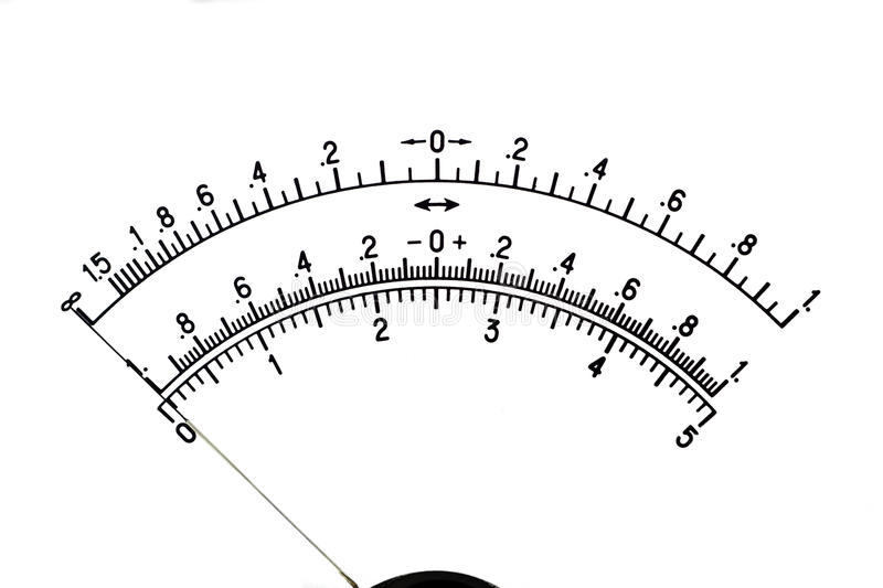 Download The Image Of A Scale Of The Measuring Device Stock Image - Image: 18076585