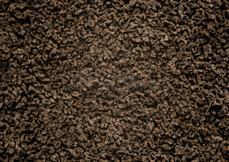 Image Of Soil Texture. Overhead View. Vector Illustration ...