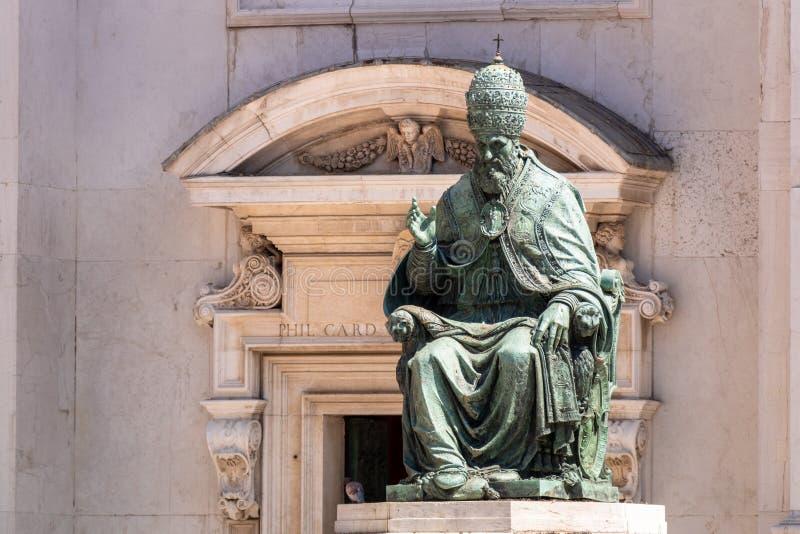 Pope Sixtus V royalty free stock photography